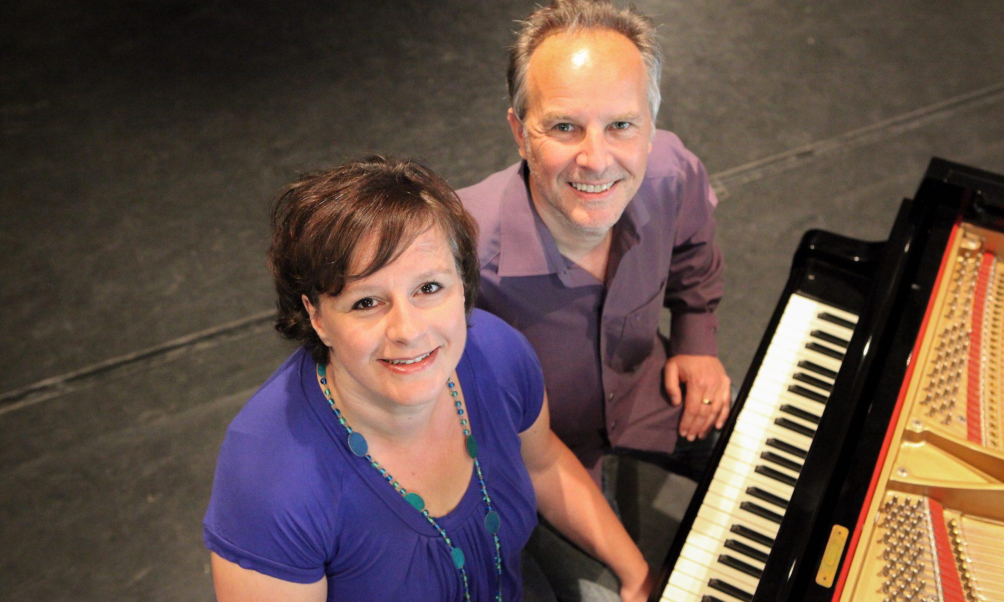 Sängerin Andrea Kaiser und Pianist Manfred Heinen aus Mönchengladbach
